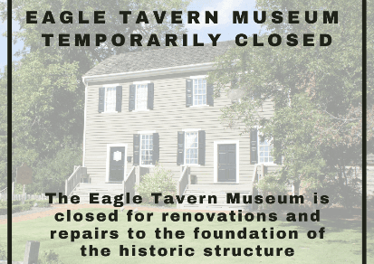 Photo of Eagle Tavern Museum with Closure Information