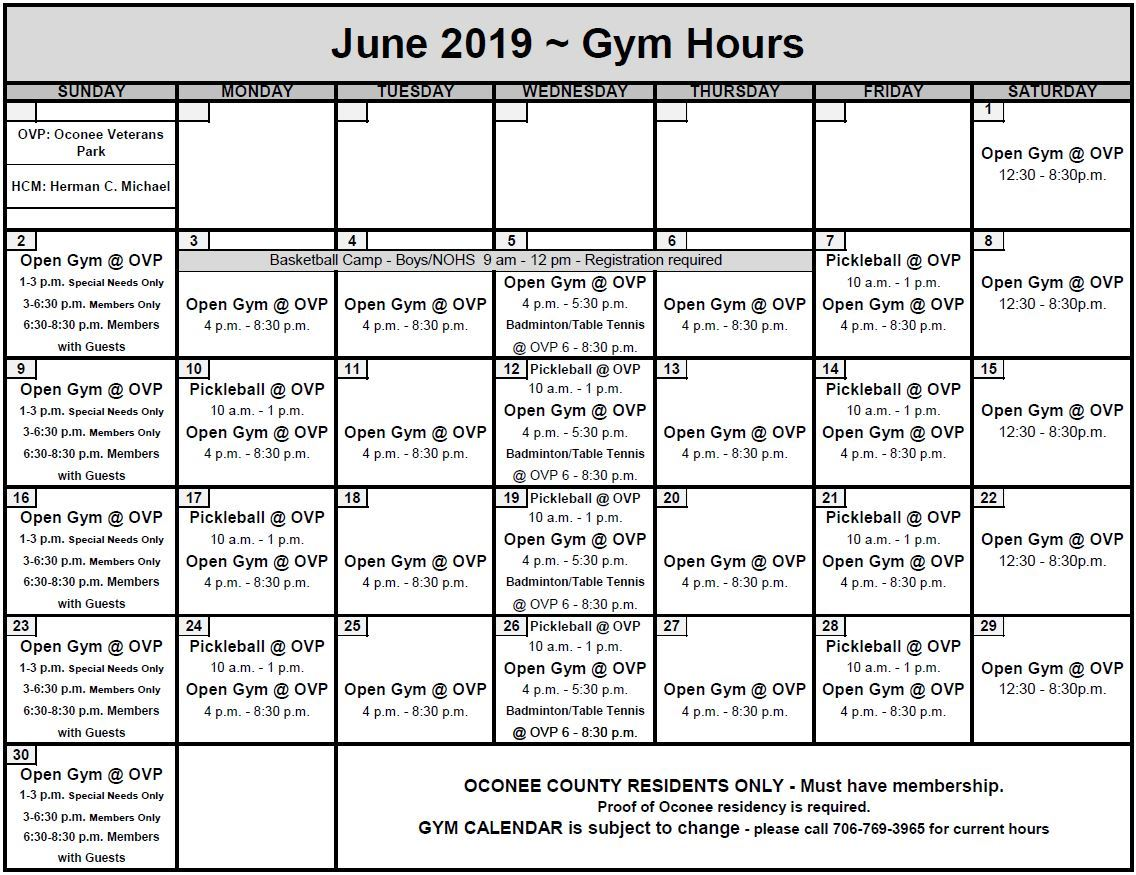 June2019OpenGym Opens in new window